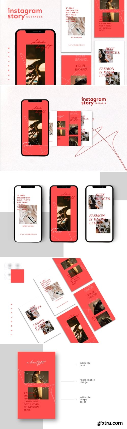 Instagram Story Template 3761594