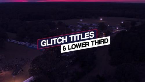 Videohive - Glitch Titles & Lower Third
