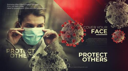 Videohive - Covid-19 Safety Cinematic Title