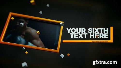 Videohive Frames Slideshow 23650678