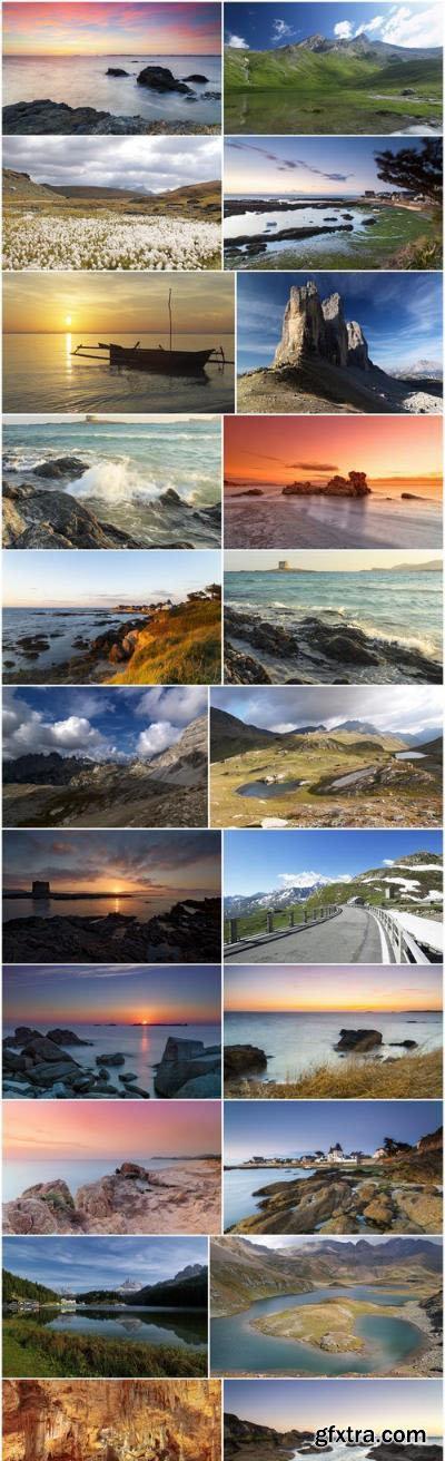 Beautiful natural landscapes, sunsets and sunrises 2 – 22xUHQ JPEG