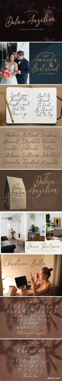 Dulan Anzelica Font