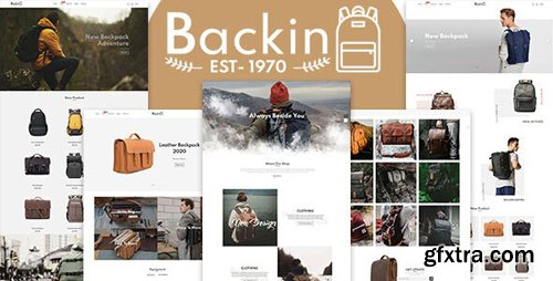 ThemeForest - Backin v1.0.0 - Bags And Backpack Modern Shopify Theme - 26000055