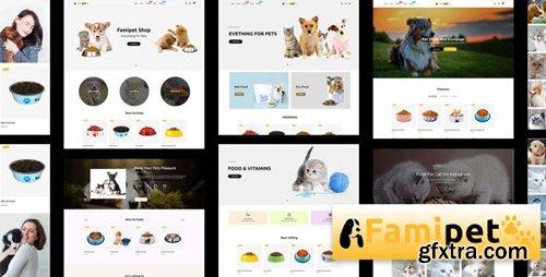 ThemeForest - Famipet v1.0.0 - Pet Food Shop Responsive Shopify Theme - 26051717