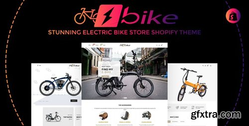 ThemeForest - E-Bike v1.0.0 - Stunning Electric Bicycle Store Responsive Shopify Theme - 26137417