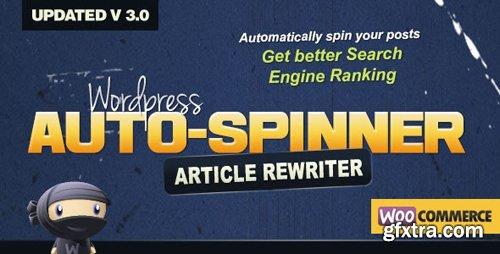 CodeCanyon - Wordpress Auto Spinner v3.7.2 - Articles Rewriter - 4092452
