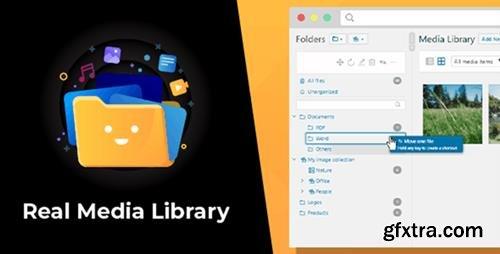 CodeCanyon - WordPress Real Media Library v4.7.6 - Folder & File Manager for WordPress Media Management - 13155134 - NULLED