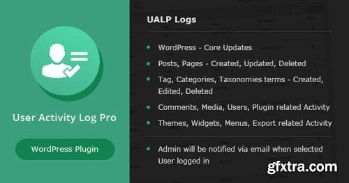 CodeCanyon - User Activity Log PRO for WordPress v1.6 - 18201203