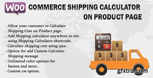 CodeCanyon - Woocommerce Shipping Calculator On Product Page v2.0 - 11496815