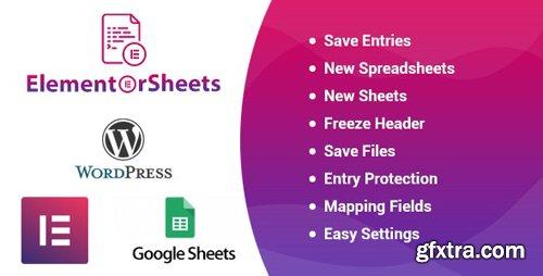 CodeCanyon - ElementorSheets v2.0 - Elementor Pro Form Google Spreadsheet Addon - 25171650