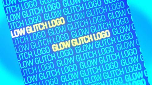 Glow Glitch Logo - 10845998
