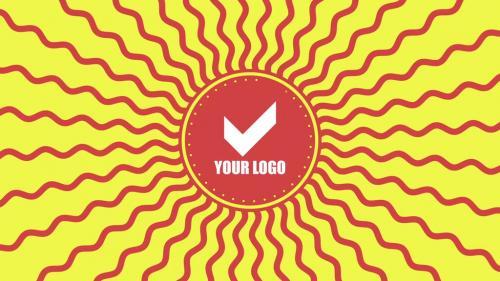 Geometric logo reveal - 10693338