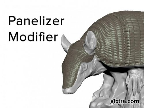 Panelizer Modifier v1.0 for 3ds Max 2018+