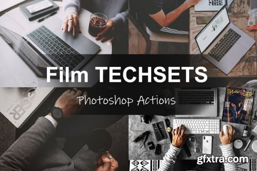 CreativeMarket - Film TECHSETS - Photoshop Actions 4580068