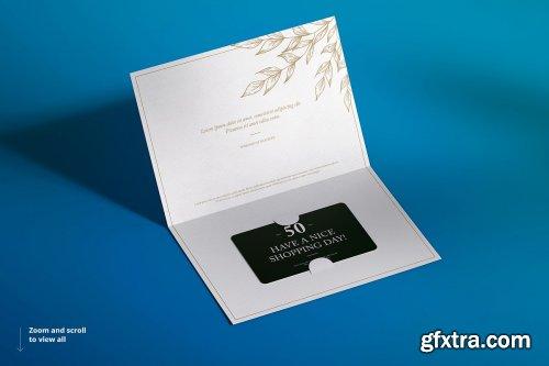 Creativemarket Gift Card Mockup Set 4614114 Gfxtra