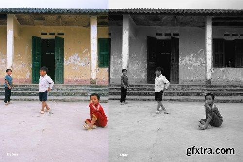 CreativeMarket - Film NO COLOR - Photoshop Actions 4564101