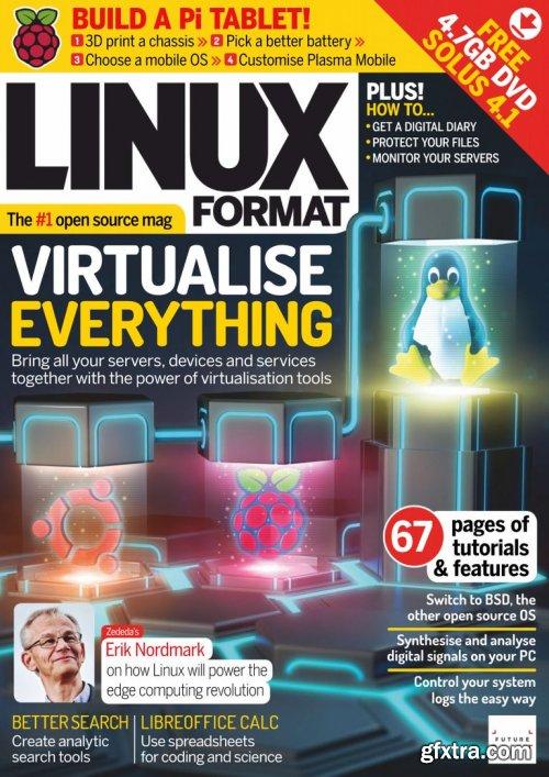 Linux Format UK - Issue 261, April 2020