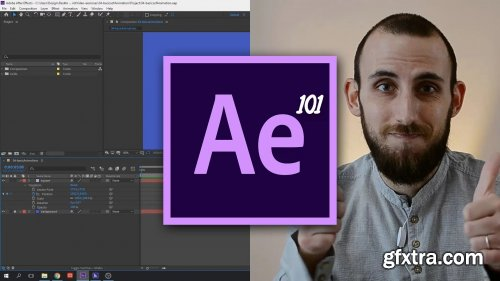 Adobe After Effects 101 | Colorful motion graphics transitions with shape layers