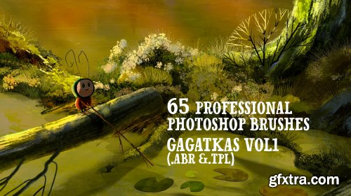 CreativeMarket - Gagatkas vol2- PRO Photoshop brushes 4571338