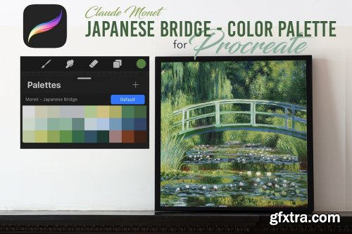 CreativeMarket - Procreate Color Palette - Monet 2 4579617