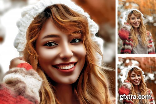 CreativeMarket - HDR Painting Photoshop Action 4518633