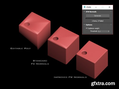 Gumroad - Improved Face Weighted Normals Script for 3ds Max