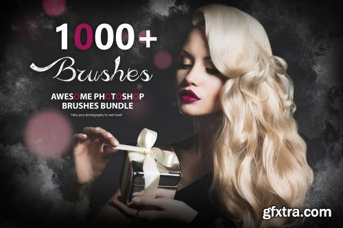 CreativeMarket - 1000+ Awesome Photoshop Brushes 4602866
