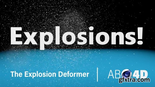 The Explosion Deformer + Bonus Mograph | Absolute Beginner Cinema 4D