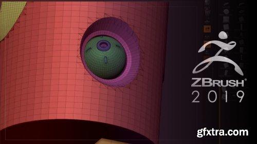 ArtStation - Intro to ZBrush - Part 9 - Hard Surface Modeling