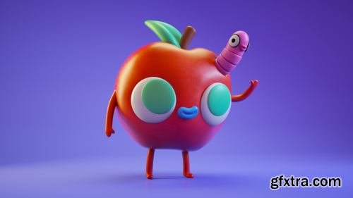 Gumroad - Character Project File from Vinyl Toy Textures in Cinema 4D