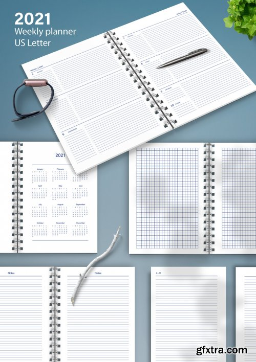 Weekly Annual Planner Layout 333498339