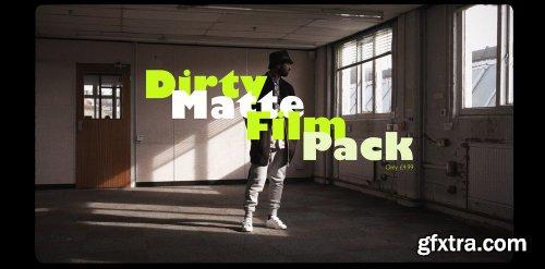 Daniel John Peters - Dirty Matte Film Pack - LUTs & Overlays