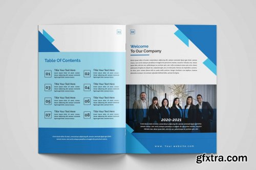 CreativeMarket - Brochure Template 4446106