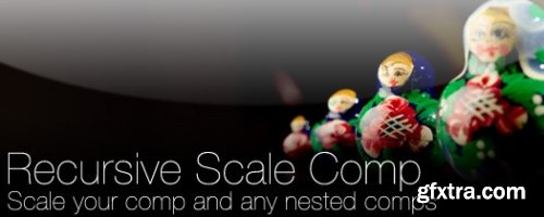 Recursive Scale Comp 1.06 for After Effects