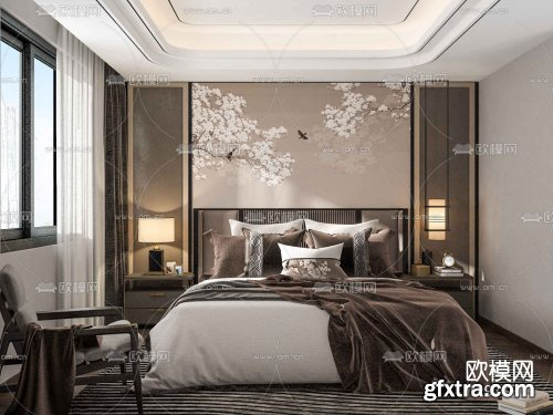 Modern Style Bedroom 318