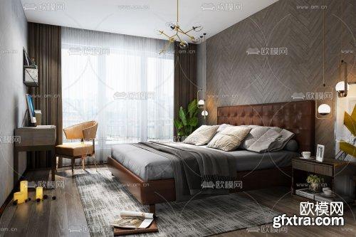 Modern Style Bedroom 319