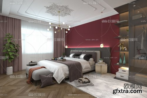 Modern Style Bedroom 320
