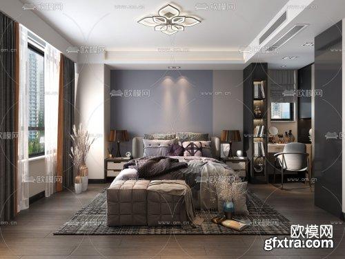Modern Style Bedroom 321