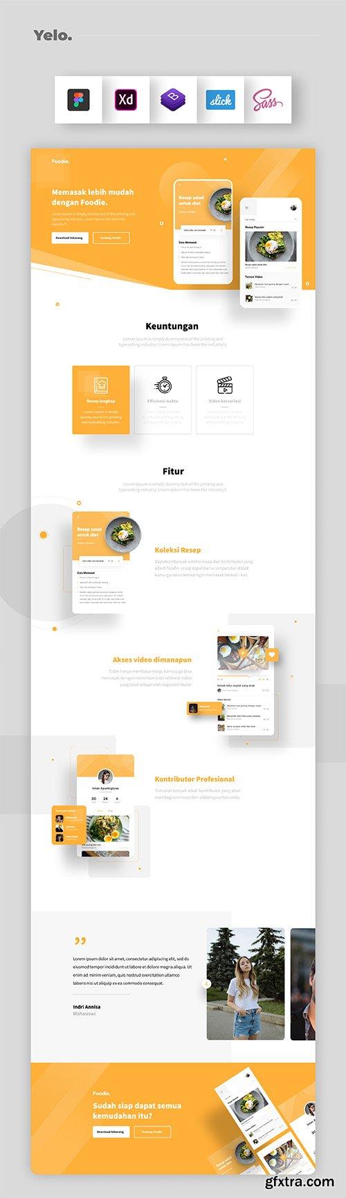 Yelo - Interactive Web Design
