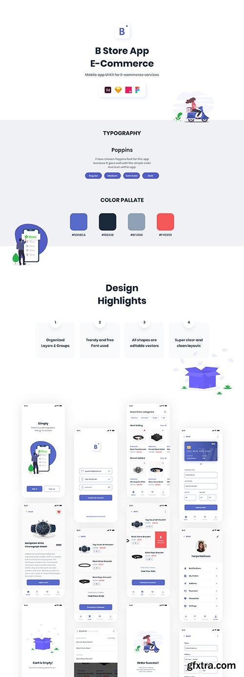 B Store App   E-Commerce