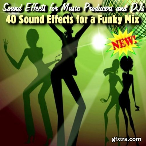 Sound Effects For Music Producers And DJs 40 Sound Effects For A Funky Mix WAV