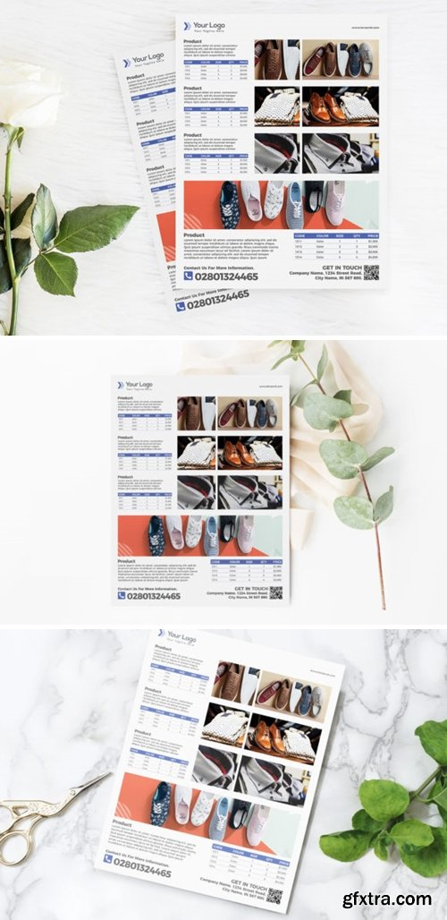 Fashion Product Flyer Template for Sale 3777378