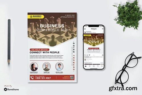 Hardbus Business Conference - Flyer & Instagram HR