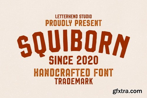 CM - Squiborn - Logo Font - 4760442