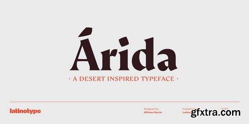 Arida Font Family