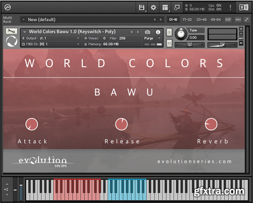 Evolution Series World Colors Bawu v1.0 KONTAKT