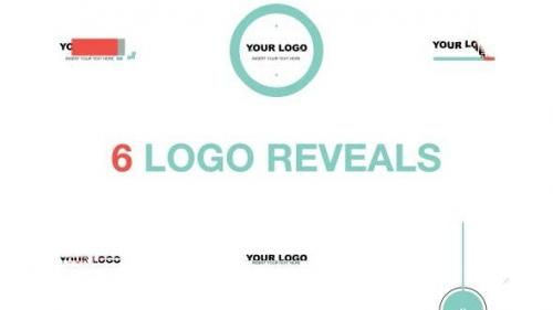 Videohive - Logo Reveal Pack Flat Style