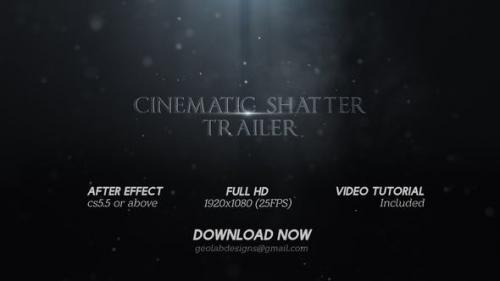 Videohive - Cinematic Shatter Trailer l Title Broken Trailer l Epic Trailer l Intense Trailer