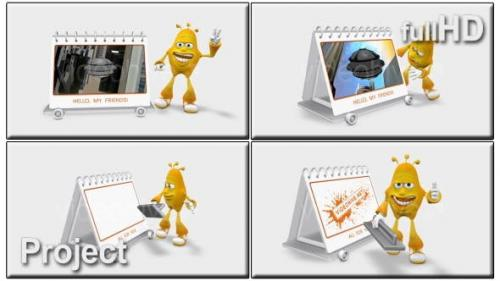 Videohive - Cartoon 3D Promote