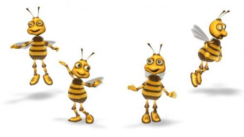 Videohive - Bee Dance Magic Reveal